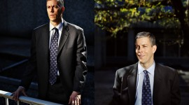 Secretary of Education Arne Duncan outside the Department of Education for Australian Financial Review.  Photos by Melissa Golden