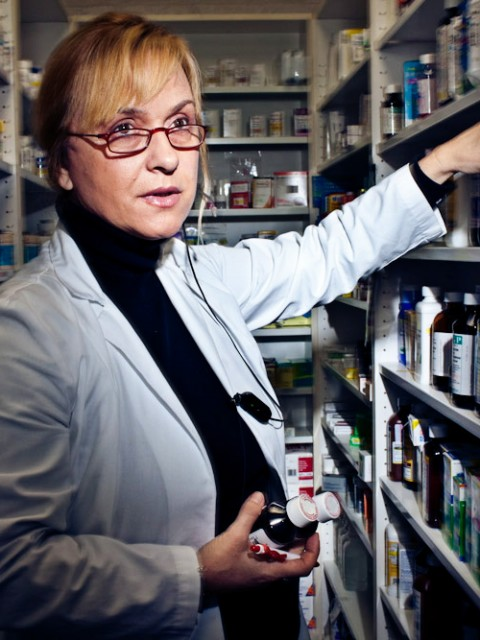 California Pharmacist Odette Leonelli