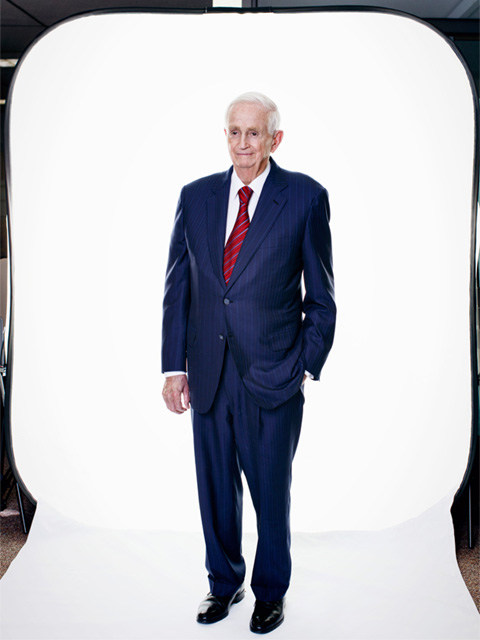 Bill Marriott, Jr. is photographed at Marriott corporate headquarters in Bethesda, Maryland on Tuesday, June 17, 2014.  CREDIT: Melissa Golden for The Wall Street Journal Weekend Confidential - Bill Marriott, Jr.